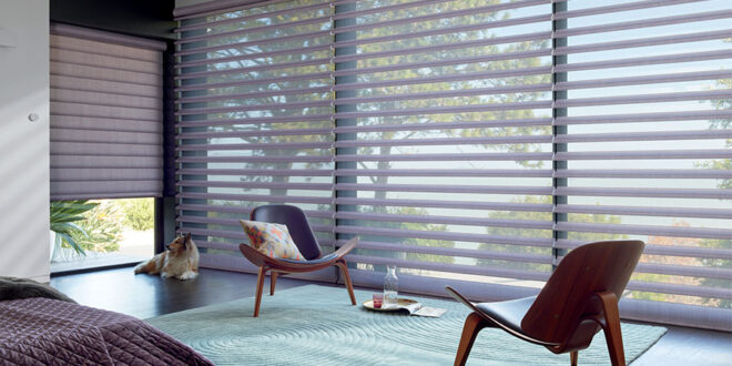 large window shades on floor to ceiling windows in Fort Myers, FL