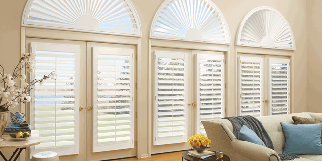 arched window treatments Hunter Douglas Fort Myers 33908