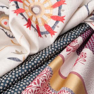 custom window treatments fabrics from fabricut Fort Myers FL