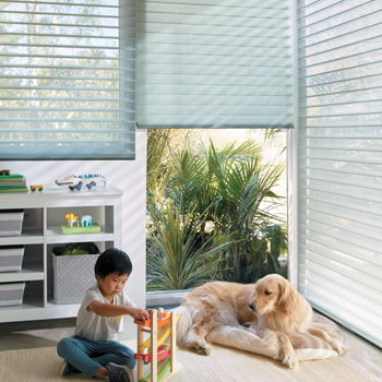 Hunter douglas silhouette shades for child safe cordless blinds Fort Myers