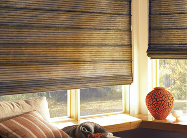 Hunter Douglas design studio custom roman shades Naples Fl