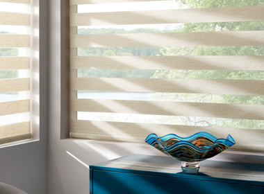 Hunter Douglas banded shades Naples