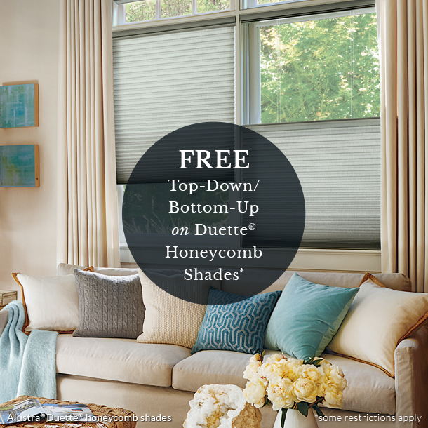 at home blinds top down shades on sale Fort Myers 33908