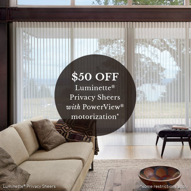 at home blinds luminette sheer shades motorized blinds on sale Naples 34119