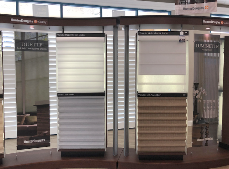 showroom blinds and shades hunter douglas Fort Myers 33908