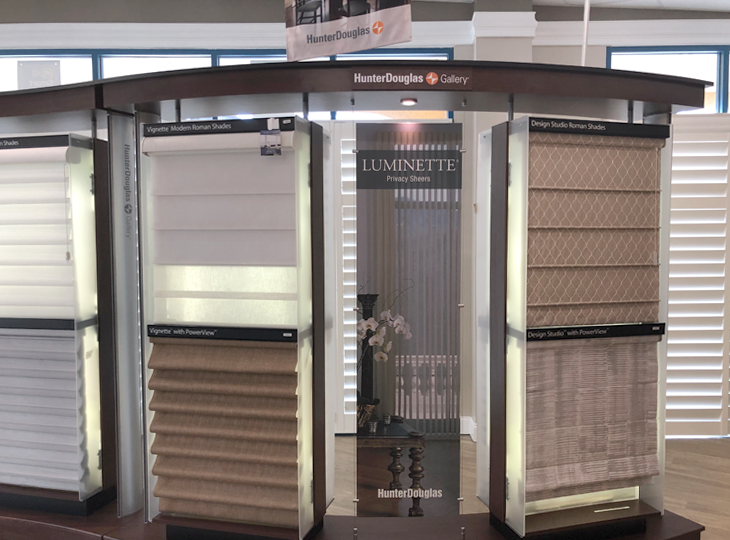 hunter douglas showroom blinds shades and shutters Fort Myers 33908