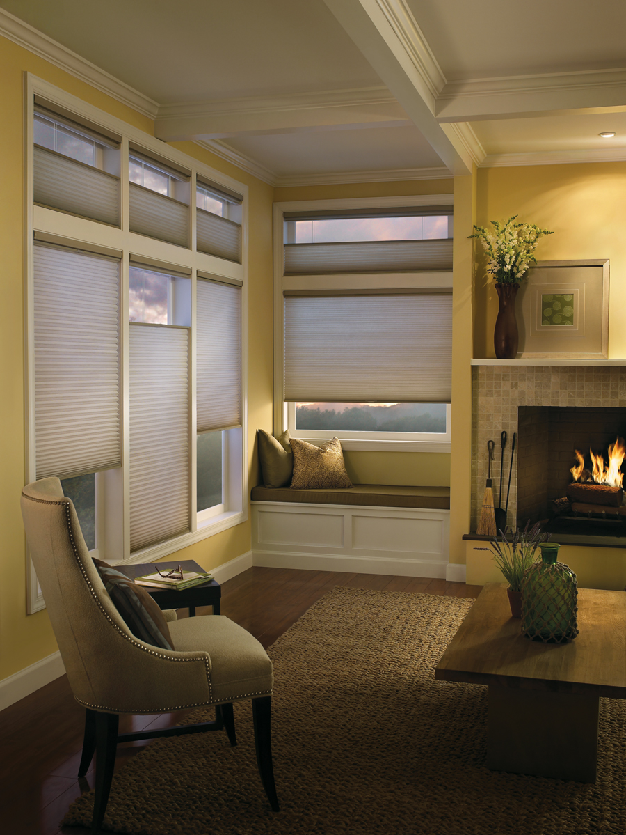 honeycomb shades for insulation Hunter Douglas Fort Myers 33908