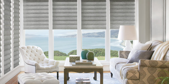 custom roman shades for your home Hunter Douglas Fort Myers FL