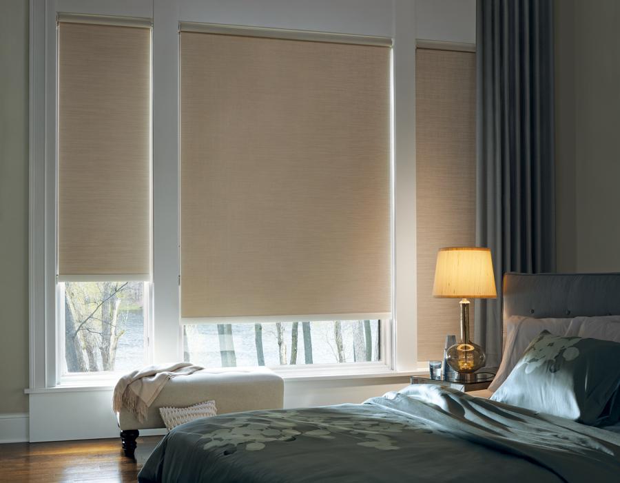 guest room room darkening roller shades Hunter Douglas Fort Myers 33908
