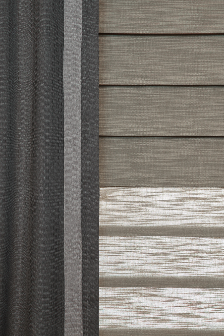 roman shades with blackout roller are dual shades Hunter Douglas Fort Myers 33908