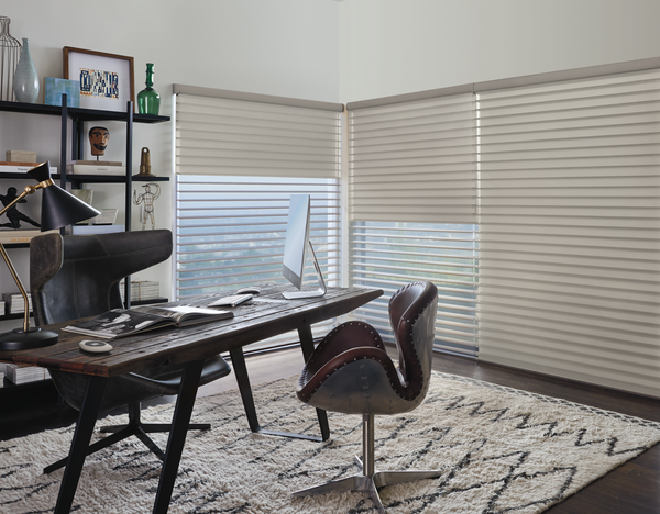 motorized dual shades for perfect home office comfort Fort Myers 33908