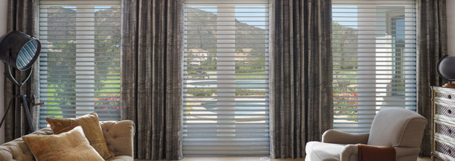 Hunter Douglas ClearView Silhouette shadings Fort Myers FL