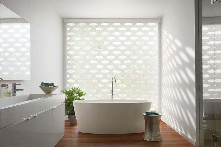 shades add elegant style in bathroom design Fort Myers 33908
