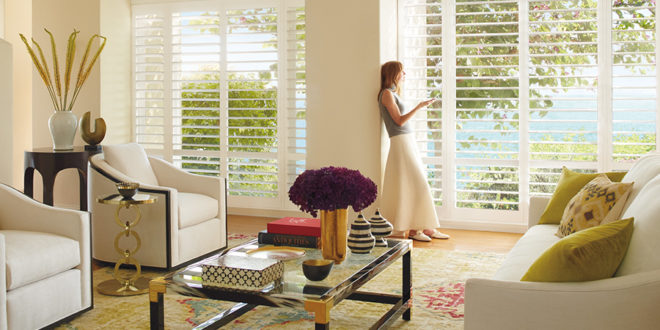 motorized shutters for style and convenience