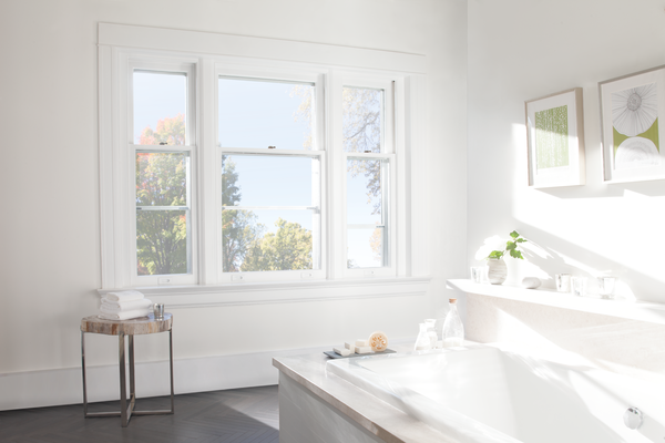 heat and light control issues in bathroom with no shades Naples 34119