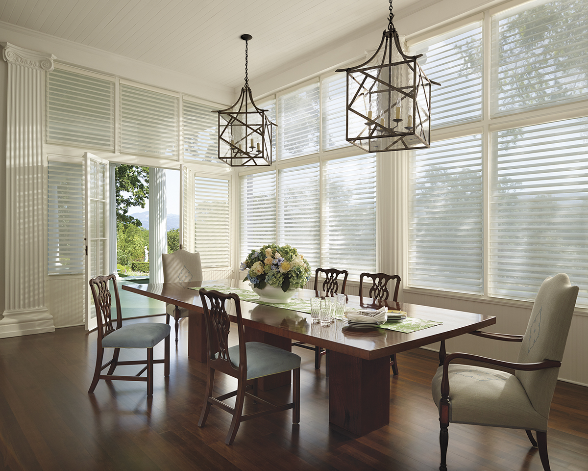 Dining room sheer shades for french doors Naples 34119