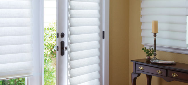 Hunter Douglas french door shades Fort Myers FL