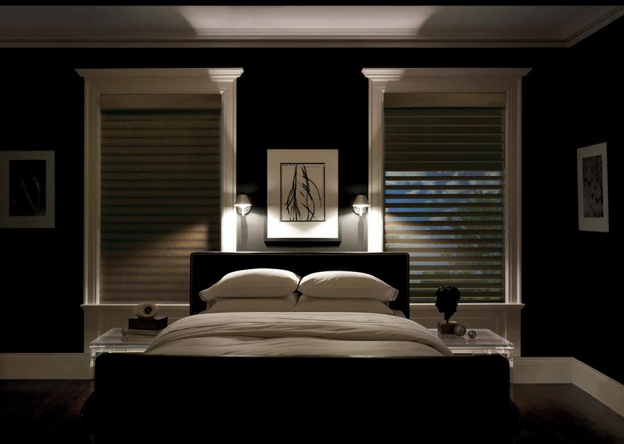 room darkening bedroom dark walls