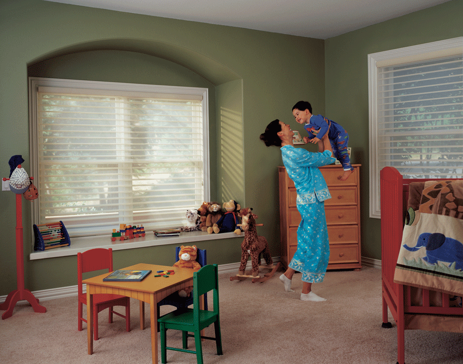 Child safety in this together with window treatments.