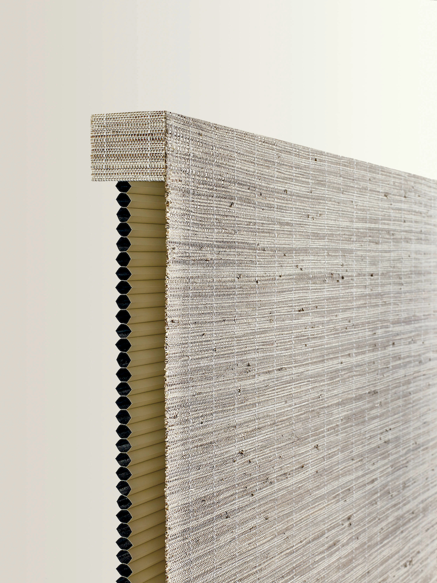 Provenance® Woven Woods with cellular shades.