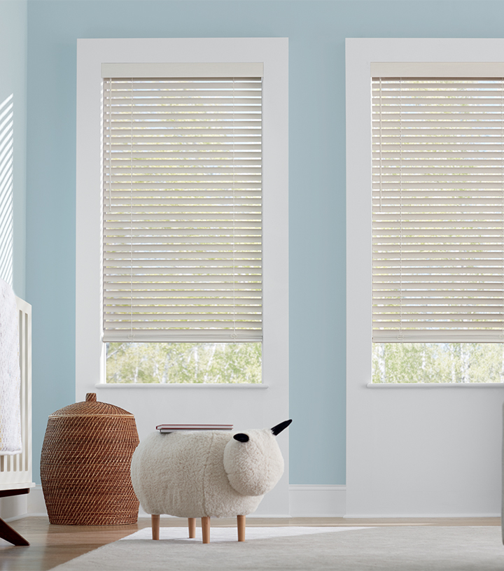 cordless blinds for child safe home in Fort Myers FL