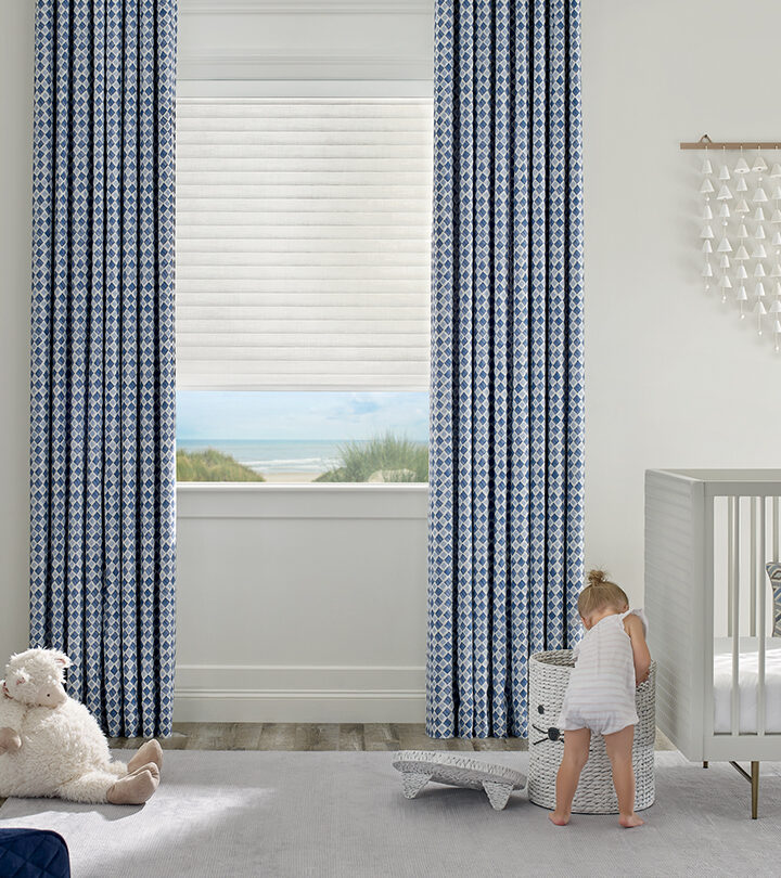 child safe blinds in a child's nursery in Fort Myers FL