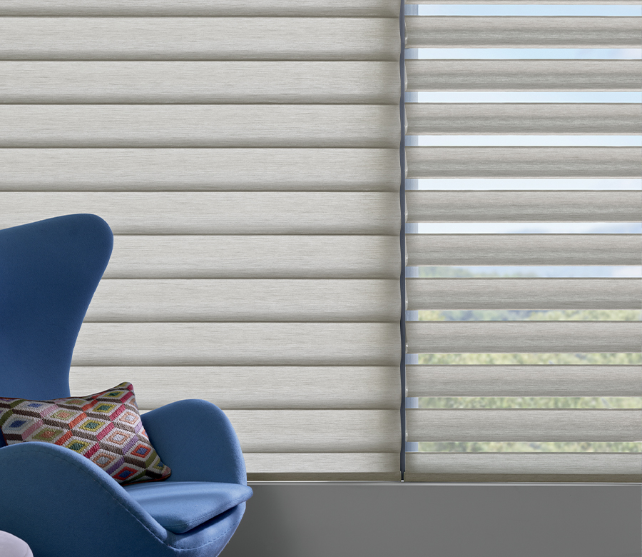 pirouette window shades one open one closed in Naples FL