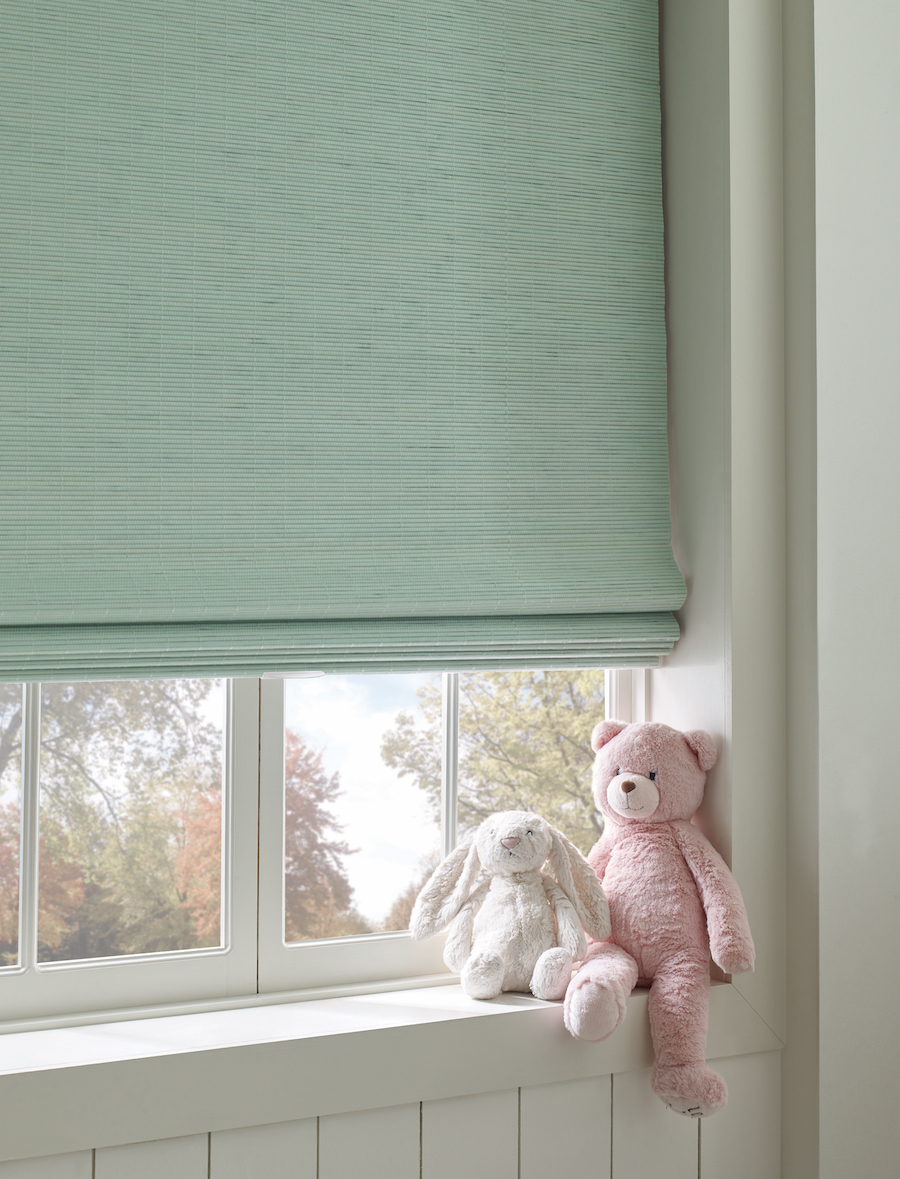 nursery gender neutral cordless window coverings naples