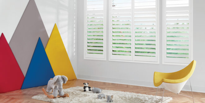 childrens room modern design plantation shutters how to childproof