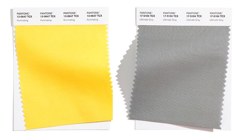 pantone color of the year 2021 yellow and gray