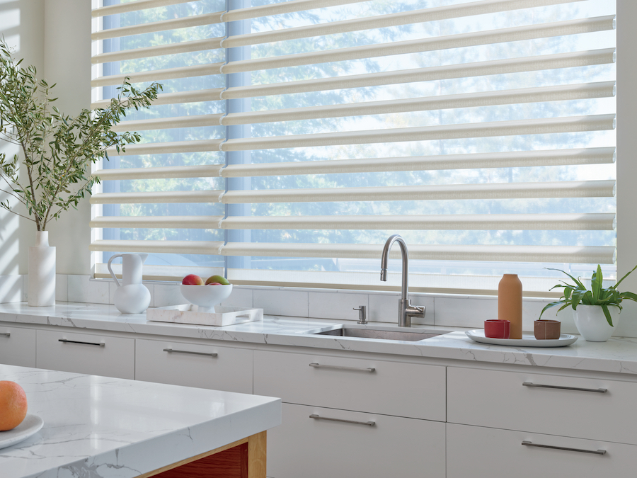 kitchen shades to increase light but decrease glare in Fort Myers FL