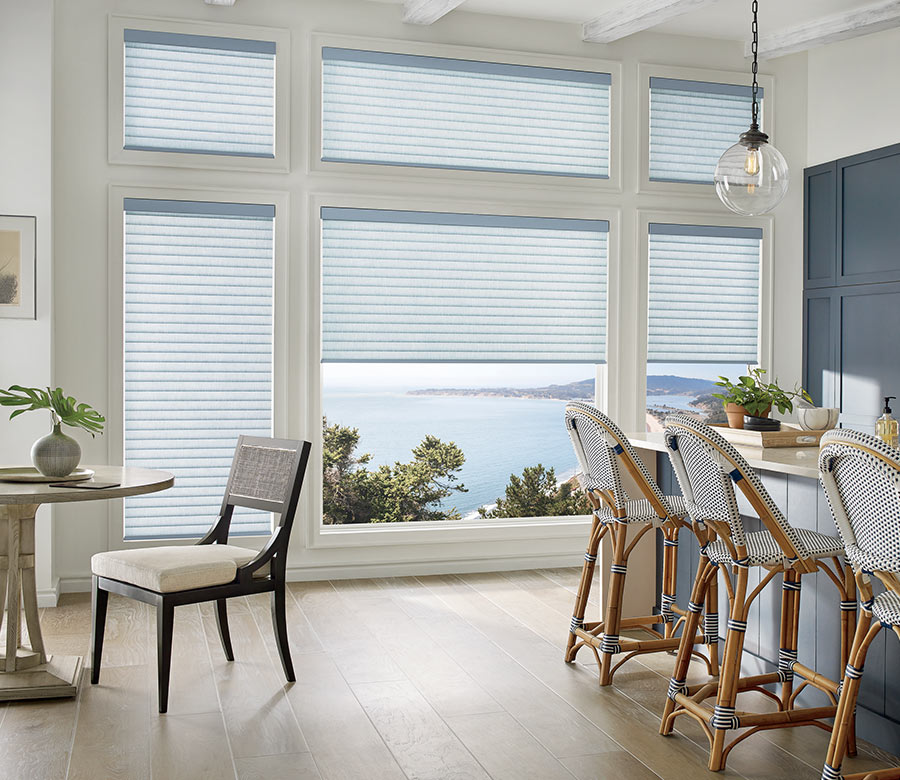 energy efficiant cellular shades in FT Myers FL home
