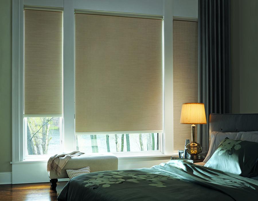 bedroom designer roller shades modern design