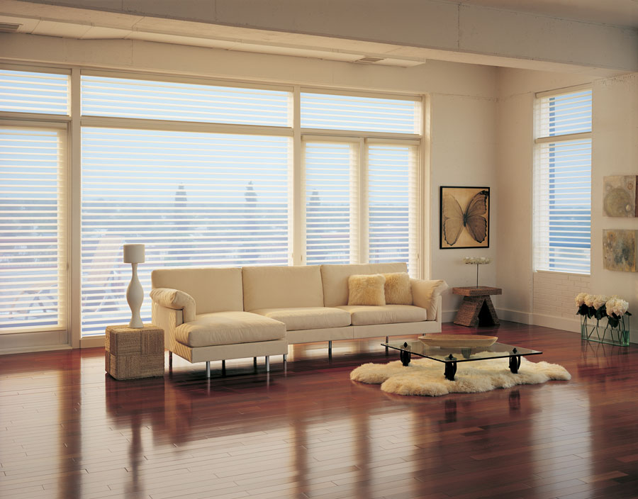 tips for balanced light floor to ceiling north facing windows in living room fort myers FL