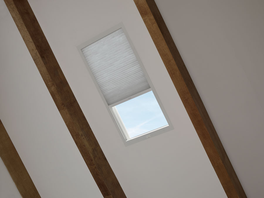 close up of skylight window in naples florida home
