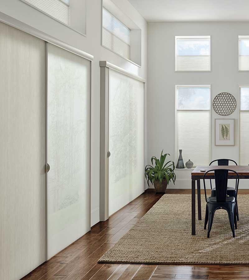 floor to ceiling dual opacity privacy sheers in Vineyards, 34119